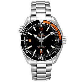 Omega Planet Ocean Black Orange Bezel Watch 215.30.44.21.01.002