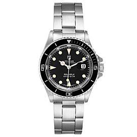 Tudor Prince Date Mini Sub Black Dial Steel Unisex Watch 73090