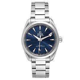 Omega Seamaster Aqua Terra Blue Dial Mens Watch 220.10.38.20.03.001
