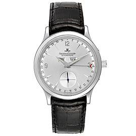 Jaeger Lecoultre Master Tripple Date Calendar Mens Watch 140.8.87 Q147812A