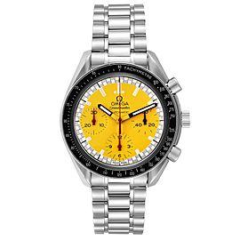 Omega Speedmaster Schumacher Yellow Dial Automatic Mens Watch 3510.12.00