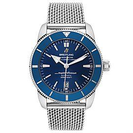 Breitling Superocean Heritage 46 Blue Dial Mens Watch AB2020