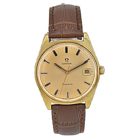 OMEGA Geneve Gold Dial Cal.613 Hand-winding Men's Watch