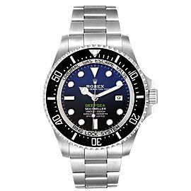 Rolex Seadweller Deepsea 44 Cameron D-Blue Dial Mens Watch 126660