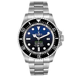Rolex Seadweller Deepsea 44 Cameron D-Blue Dial Mens Watch