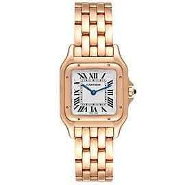Cartier Panthere 18k Rose Gold Medium Ladies Watch WGPN0007