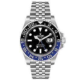 Rolex GMT Master II Black Blue Batman Jubilee Mens Watch 126710