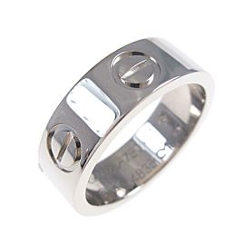 Cartier 18K White Gold Love ring TkM-96