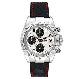 Tudor Tiger Prince White Dial Chronograph Steel Mens Watch 79280