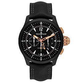 Jaeger LeCoultre Master Compressor Ceramic Watch 179.C.C7 Q205L570