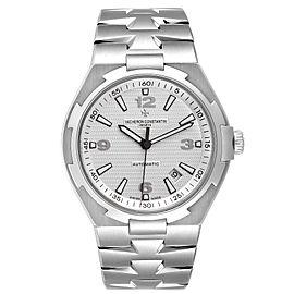 Vacheron Constantin Overseas Silver Dial Steel Mens Watch 47040