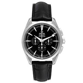 Omega Aqua Terra Black Dial Chronograph Steel Mens Watch 2812.50.31