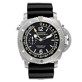 Panerai Luminor 1950 Submersible Depth Gauge Titanium Watch PAM00193