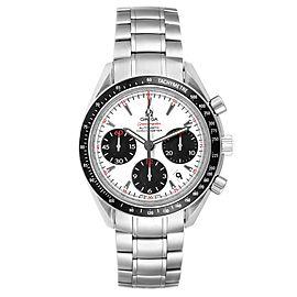 Omega Speedmaster Date Panda Dial Steel Watch 323.30.40.40.04.001 Box Card