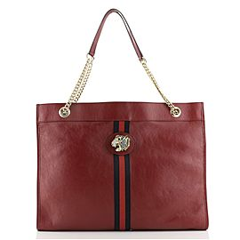 Gucci Rajah Chain Tote Leather Large