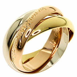 CARTIER 18K Pink Gold/18K Yellow Gold/18K White Gold Trinity 3 color Ring