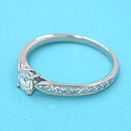 TIFFANY & CO 950 platinum Harmony Ring