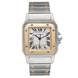 Cartier Santos Galbee Large Steel Yellow Gold Unisex Watch