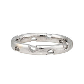 Damiani 18k White Gold .39 CTW Diamond D.Icon Bracelet