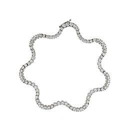 Damiani 18k White Gold 4.13 CTW Diamond Sirena Bracelet