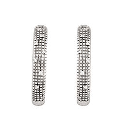 Damiani 18k White Gold .12 CTW Diamond Metropolitan Dream Earrings