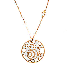 Damiani Yellow Gold Ceramic Damianissma Necklace