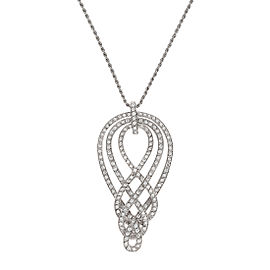 Damiani White Gold 1.07 CTW Diamond Vittoriana Necklace