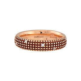 Damiani 18k Rose Gold .07 CTW Diamond Metropolitan Dream Ring