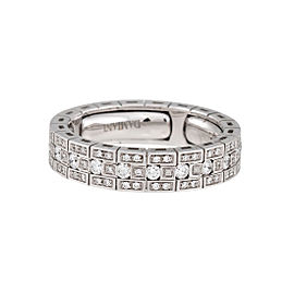 Damiani White Gold .80 CTW Diamond Belle Epoque Ring