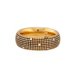 Damiani 18k Yellow Gold .14 CTW Diamond Metropolitan Dream Ring
