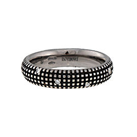 Damiani 18k White Gold Diamond Metropolitan Dream Ring