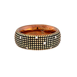 Damiani 18k Rose Gold .14 CTW Diamond Metropolitan Dream Ring