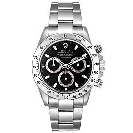 Rolex Daytona Black Dial Chronograph Steel Mens Watch 116520