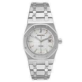 Audemars Piguet Royal Oak Silver Dial Steel Mens Watch 15000ST