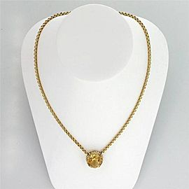 14k Yellow Gold Victorian 11.00ctw Citrine Cultured Pearl 1900s