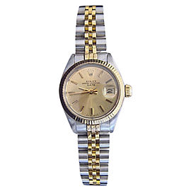Rolex Date 6917 26mm Vintage Womens Watch