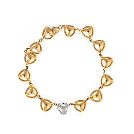Di Modolo 18k Yellow Gold .27 CTW Diamond Icona Bracelet