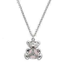 Di Modolo Sterling Silver Bear Charm Pendant