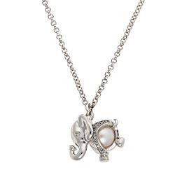 Di Modolo Sterling Silver Elephant Charm Pendant