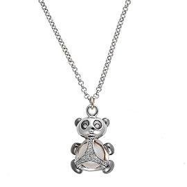 Di Modolo Sterling Silver Panda Charm Pendant