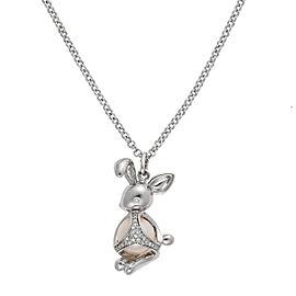 Di Modolo Sterling Silver Rabbit Charm Pendant