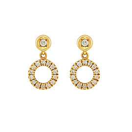 Di Modolo 18k Yellow Gold .33 CTW Diamond Eterno Earrings