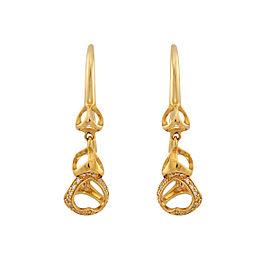 Di Modolo 18k Yellow Gold .41 CTW Diamond Linked by Love Earrings