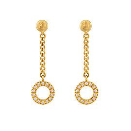 Di Modolo 18k Yellow Gold .34 CTW Diamond Eterno Earrings