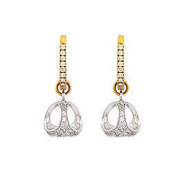 Di Modolo 18k Yellow Gold .63 CTW Diamond Icona Earrings