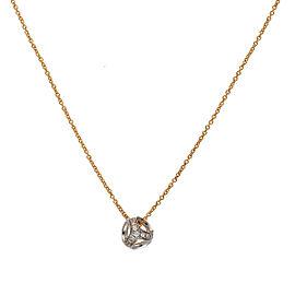 Di Modolo 18k Yellow Gold .12 CTW Diamond Icona Necklace