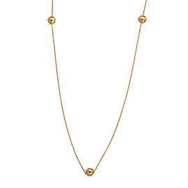Di Modolo 18k Yellow Gold Icona Necklace
