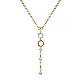 Di Modolo 18k Yellow Gold .24 CTW Diamond Eterno Necklace