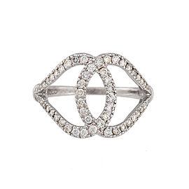 Di Modolo 18k White Gold .56 CTW Diamond Fiama Ring