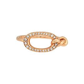Di Modolo 18k Rose Gold .09 CTW Diamond Nodo Ring